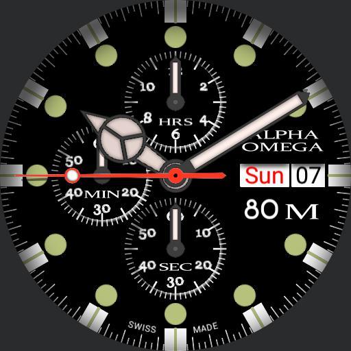 AO chronograph II