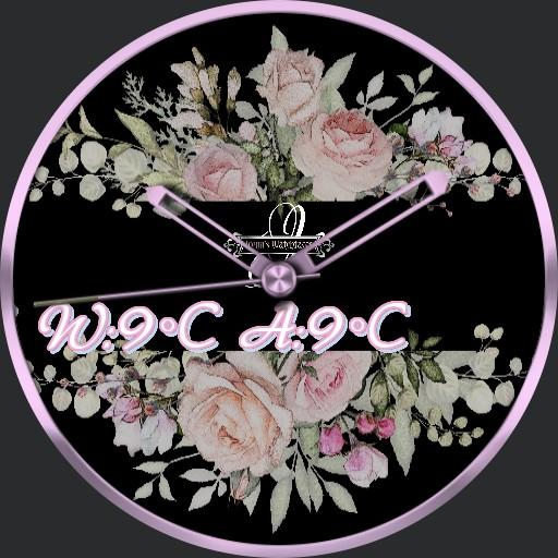 Flower Rose Ticker