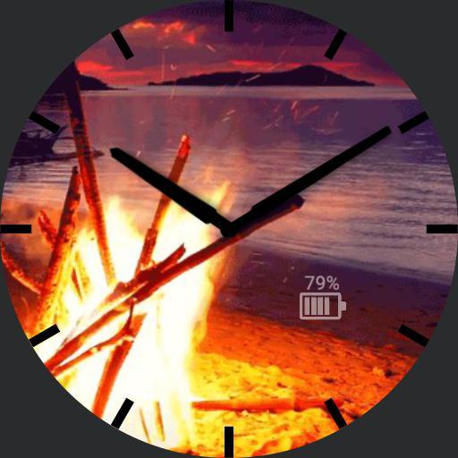 Bonfire analog watch