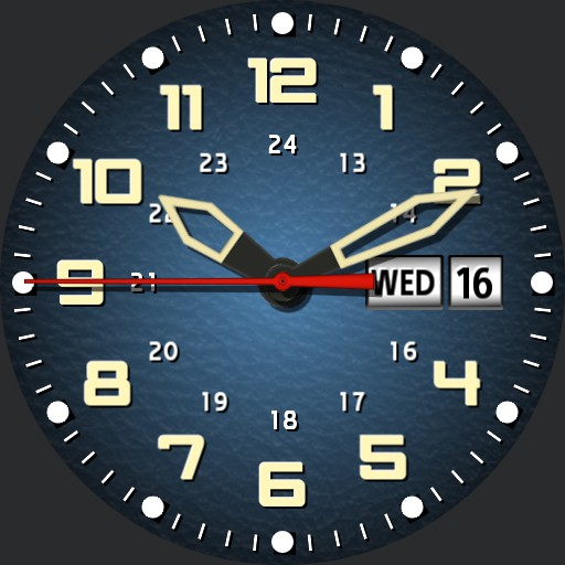 Sport watch.  hammered finish   easy read V2