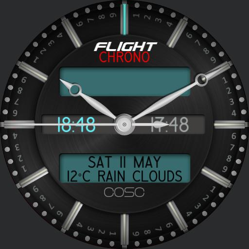JRF Flight 12.00 chrono event