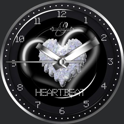 Lady HeartBeat Animation
