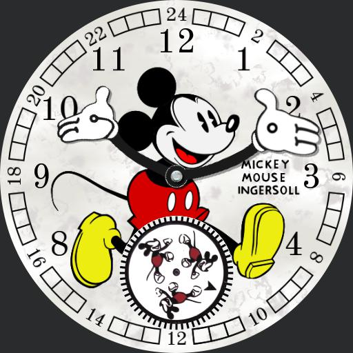 Mickey Mouse - Ingersoll 30s Collection 25834 v2.0