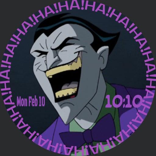 The Joker animated