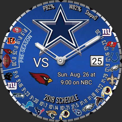 Cowboys Schedule 2018