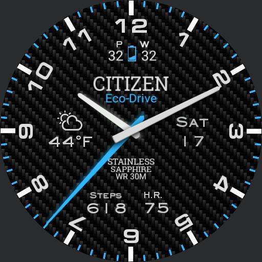 Citizen Blue Glow
