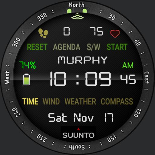 12h GEAR SUUNTO Redesigned by Ramasoft Wdigital