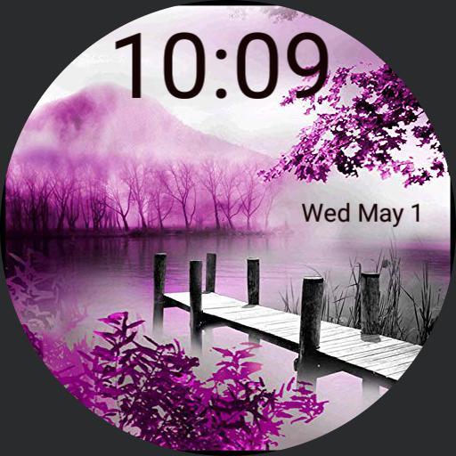 Dodi,  purple natural