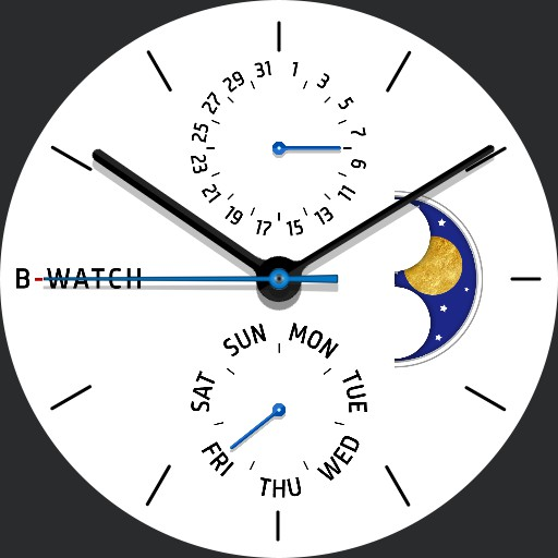 B-Watch Minimal moonphase