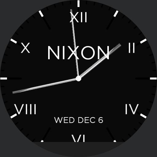 nixon blacknglow