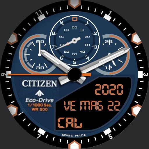 Citezen Eco Drive MF1.0 Watch