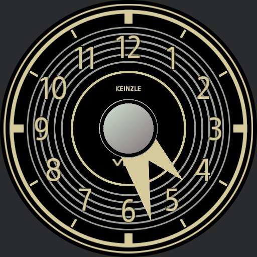 Merc. 300SL Dash Clock
