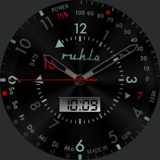Ruhla GDR Watch
