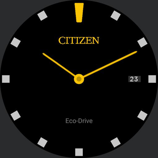 Citizen Eco-Drive Simply Yellow