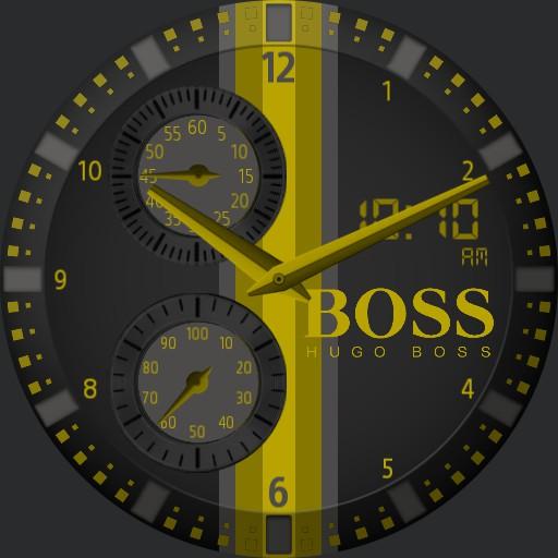 Hugo Boss Black and Yellow