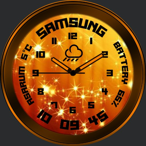 Samsung face with stars