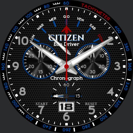 Citizen Punto81 Blue