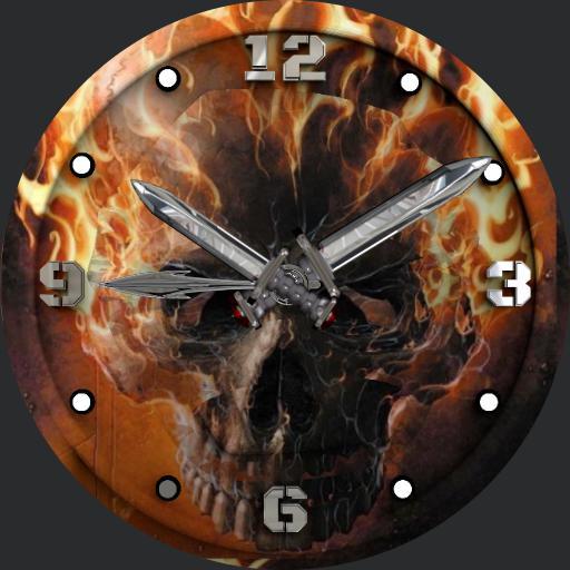 Styleknight Fire Skull