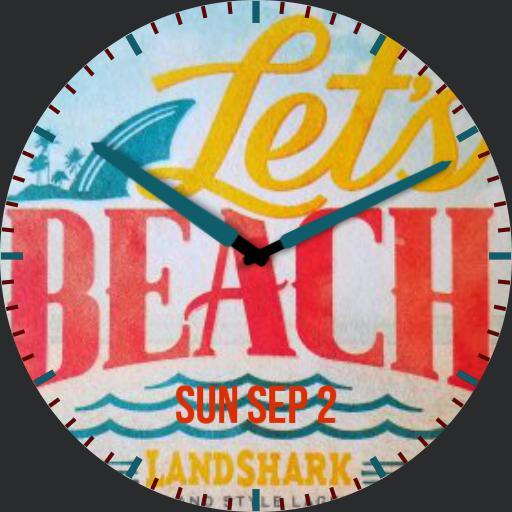Beach Beer Coaster