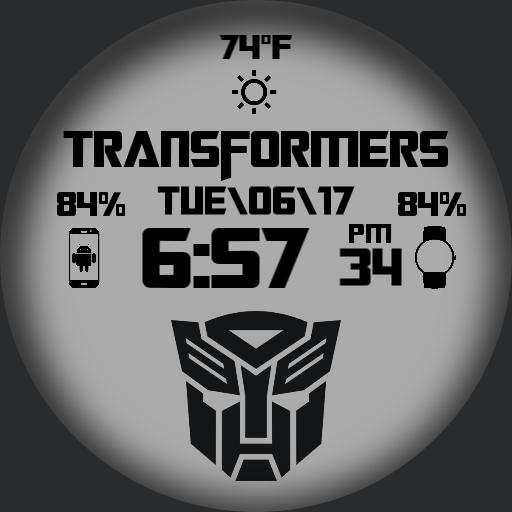 Transformers Watch Color 12h/24h