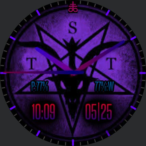 Satanic Watch Purple