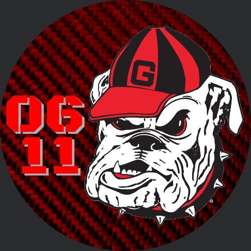 Georgia Bulldawg face