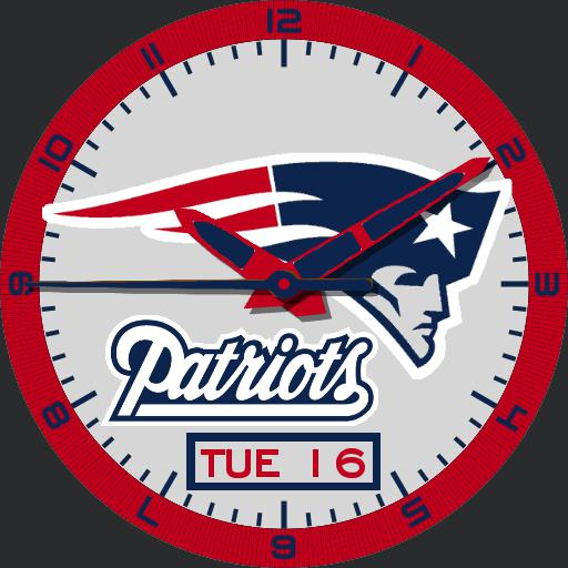 New England Patriots Dimmed