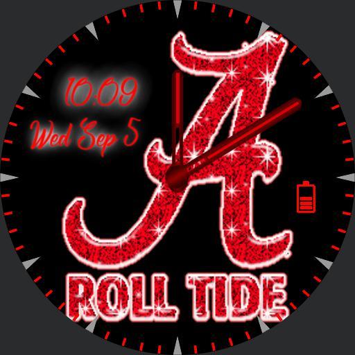 Gurly roll tide