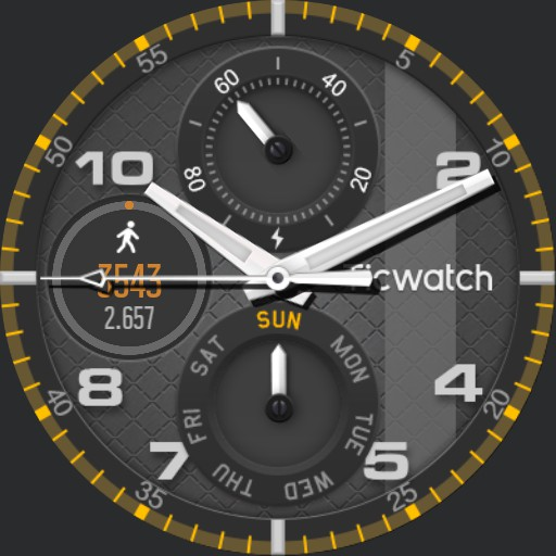 Style watch face