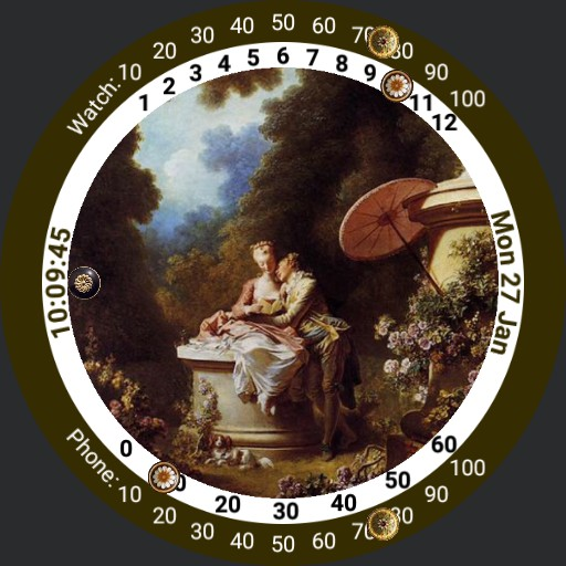 Art Watch - Fragonard - Declaration of Love