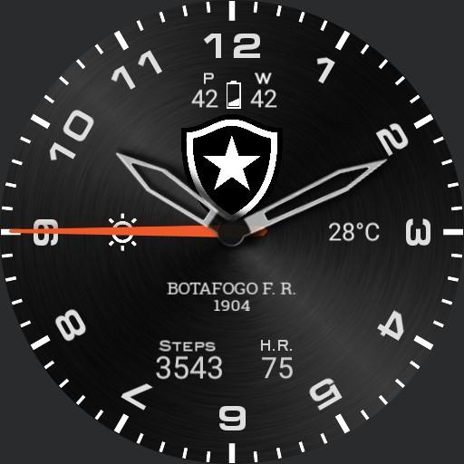 Botafogo Metal Watch