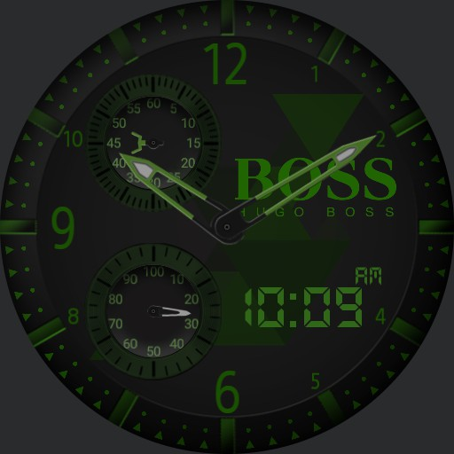 Hugo Boss Black and Green