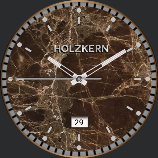 Holzkern Bronze Marble