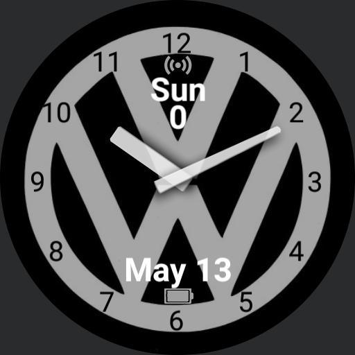Volkswagen Analog with Pedometer
