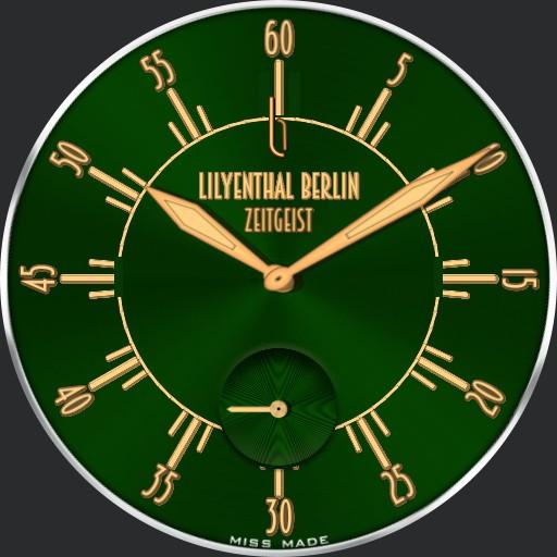 LILYENTHAL BERLIN ZEITGEIST GRUN JBLBZGOO280620