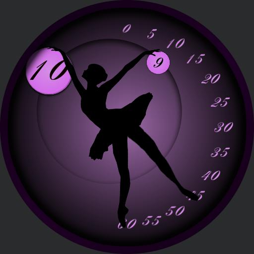 Classic dancer watchface.