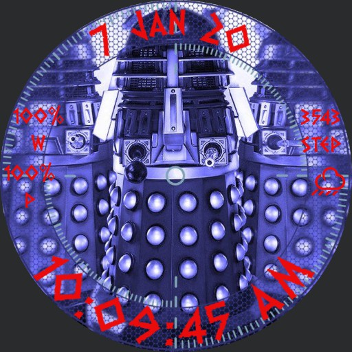 Dalek Watch Face