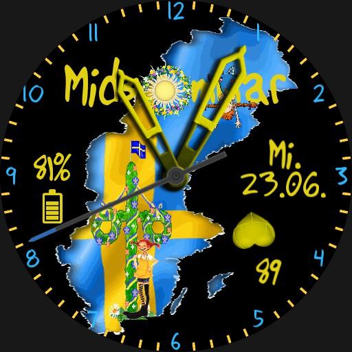 Midsommar Schweden