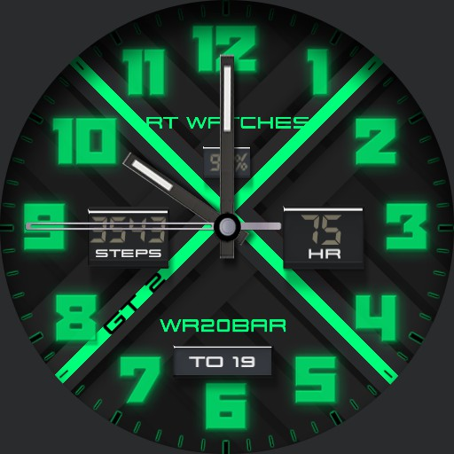 RT Watch GT 2 Mint Green