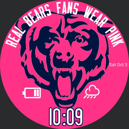 Real Bears Fans Wear Pink