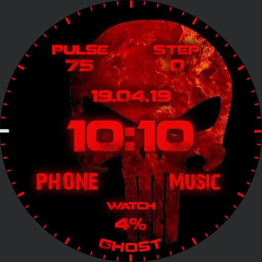 Punisher Watch Face