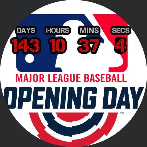 2020 Major League Baseball Opening Day Countdown