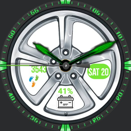 Wheel Green