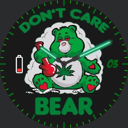 Dont Care Stoner Bear