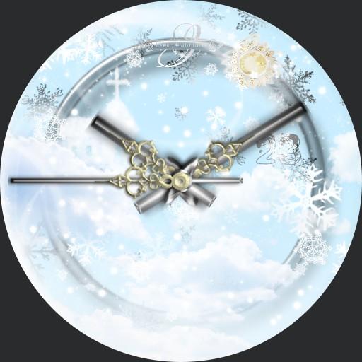 Himmelskirche Winter 3fach Dim nach Tageszeit A