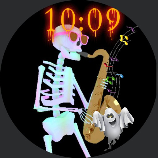 spooky scary skeleton
