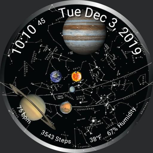 Solar System Study 1
