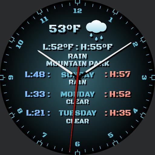 Analog Weather