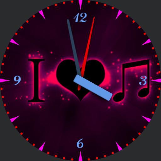 I love Music watch