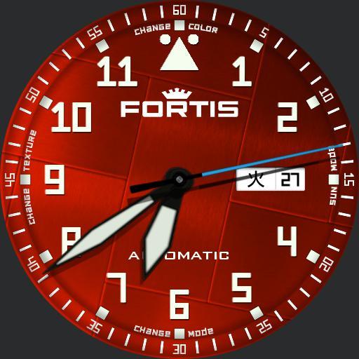 Fortis Flieger Professional 2in1 blue/orange df